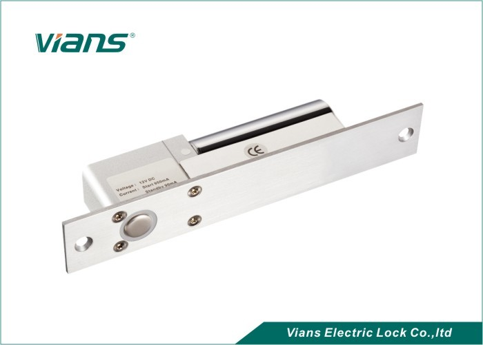 Electric Bolt Locks For Automatic Door , Solenoid Bolt Lock With Reverse Current